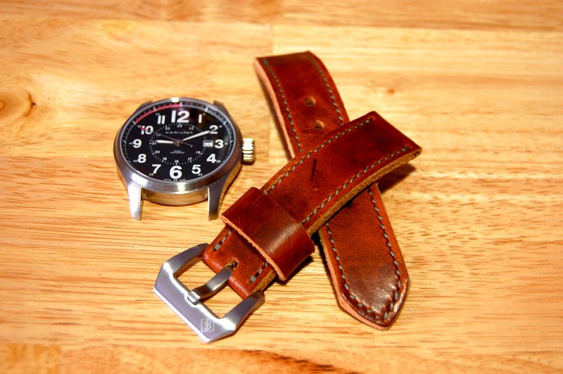 SNPR-Leather-Works-Chestnut-Dublin-Watch-Strap-2