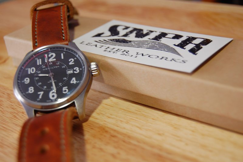 SNPR-Leather-Works-Chestnut-Dublin-Watch-Strap-8