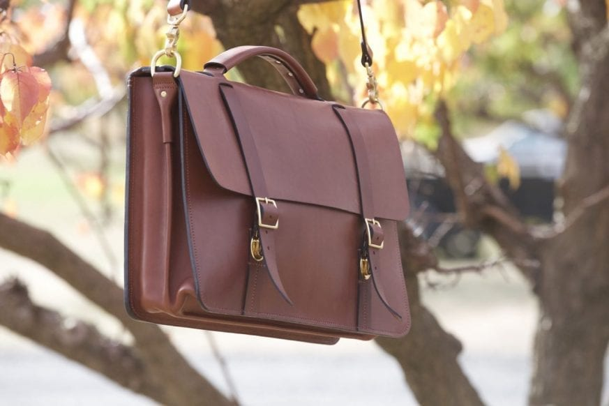 Basader Gusseted Briefcase Review02