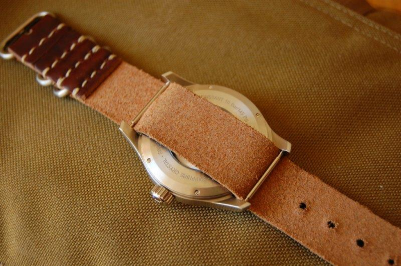 Daluca Straps 1 Piece Nato Watch Strap Review 135