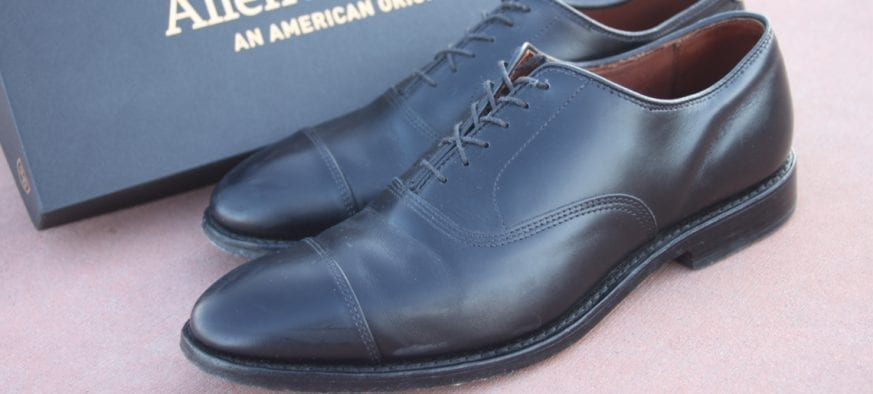 e7071d34f Allen Edmonds Park Avenue Cap-Toe Lace Up Oxfords Review - $385 ...