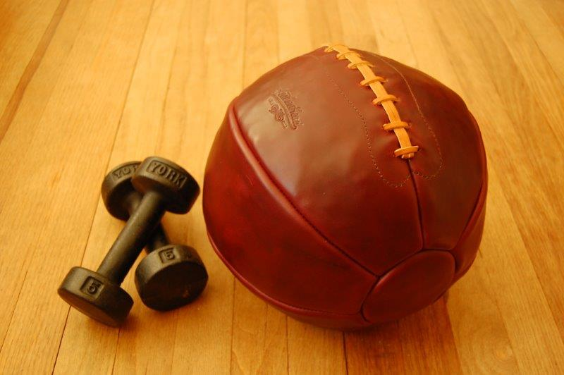 Leather Head Sports 12lb Medicine Ball (11)