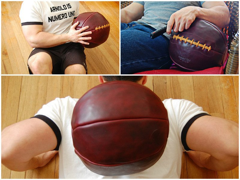 Leather Head Sports 12lb Medicine Ball (8)
