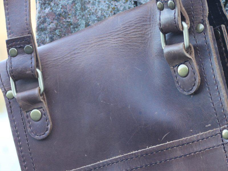 Marlondo Leather iPad Satchel 11