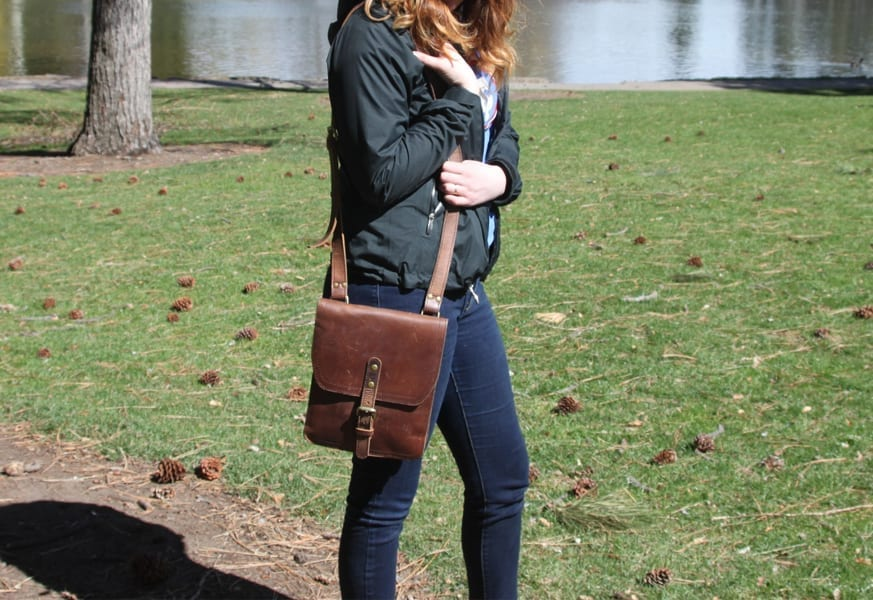 Marlondo Leather iPad Satchel 12