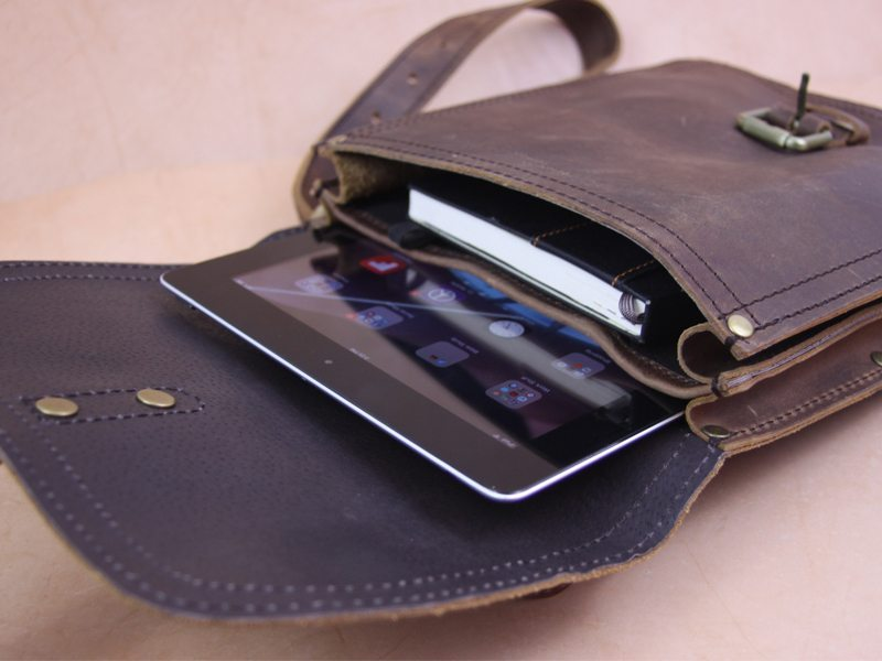 Marlondo Leather iPad Satchel 2