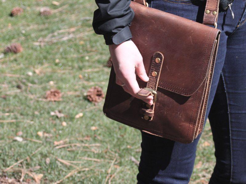 Marlondo Leather iPad Satchel 4