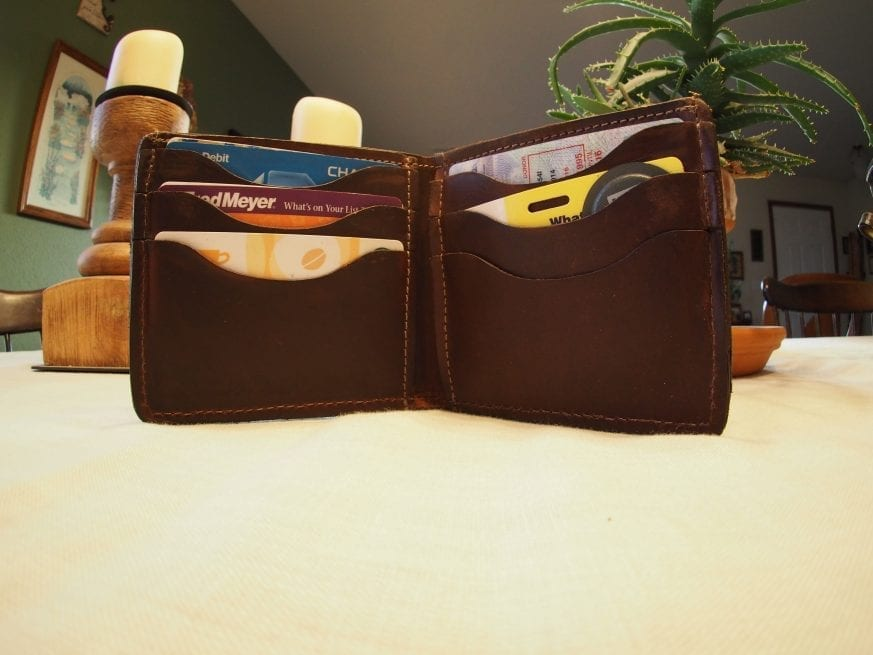 North Star Leather S Horween Leather Bifold Wallet Review