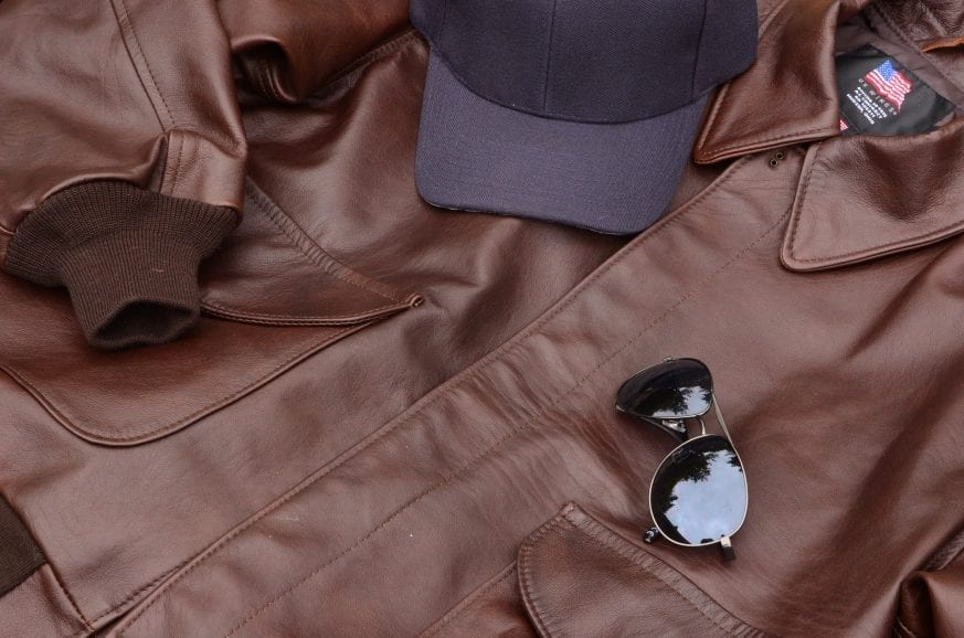 efb5ab046ad ... asked to review the US Wings Kangaroo Leather Bomber Jacket Modern A-2.  This is our first review of a product entirely composed of Kangaroo leather!