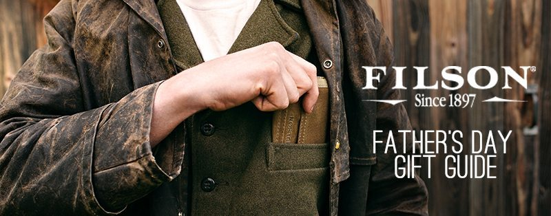 Filson Fathers Day Gift Guide Cover
