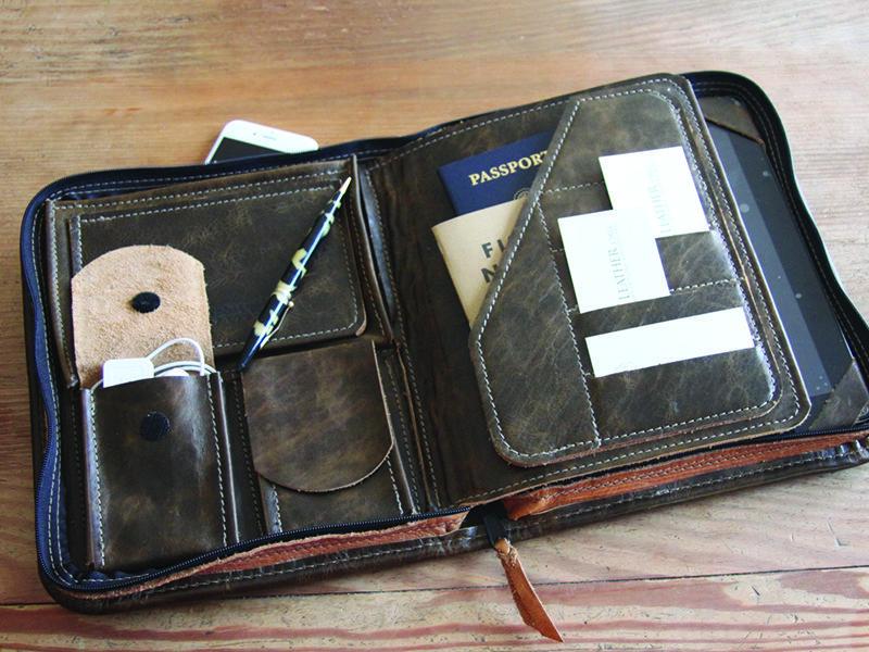 Conestoga Leather Professional Folio 10