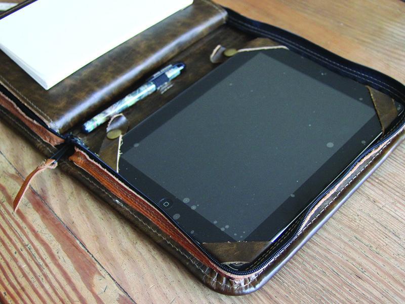 Conestoga Leather Professional Folio 7