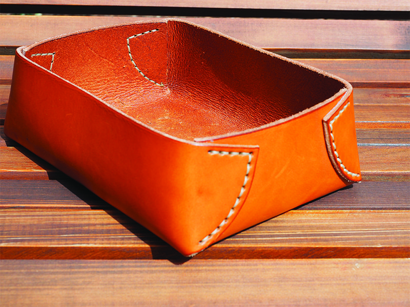Westward Leather Double Tray Dopp Kit 5
