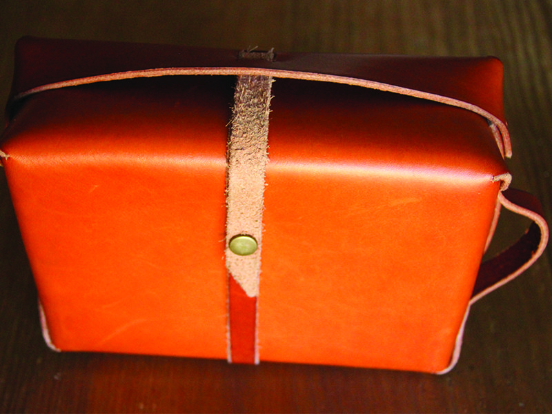 Westward Leather Double Tray Dopp Kit 7