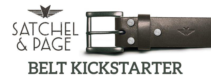 Satchel Page Belt Kickstarter