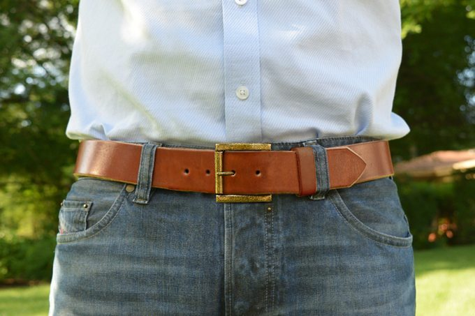 guy with belt