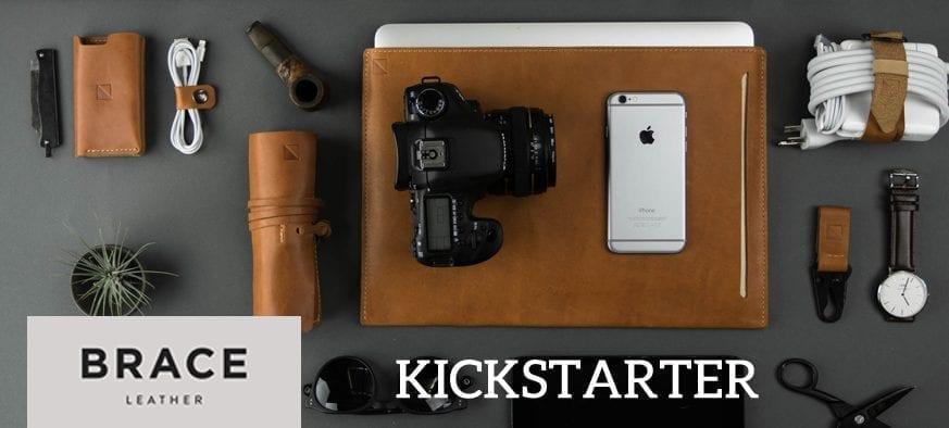 Brace Leather Kickstarter
