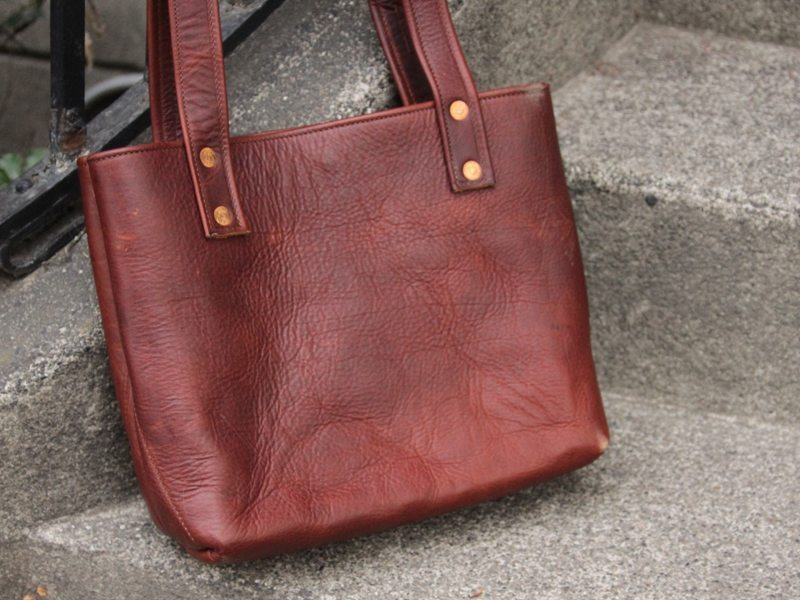 Conestoga Leather Amia Tote 1