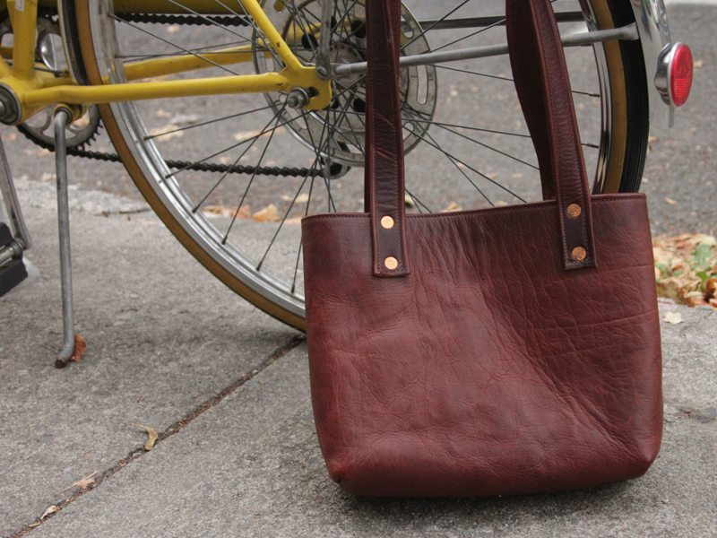 Conestoga Leather Amia Tote 6