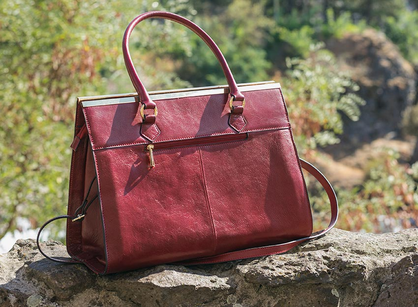 Wilsons Leather Roma Tote 002