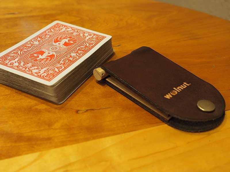 Walnut Studiolo Cribbage Board 2