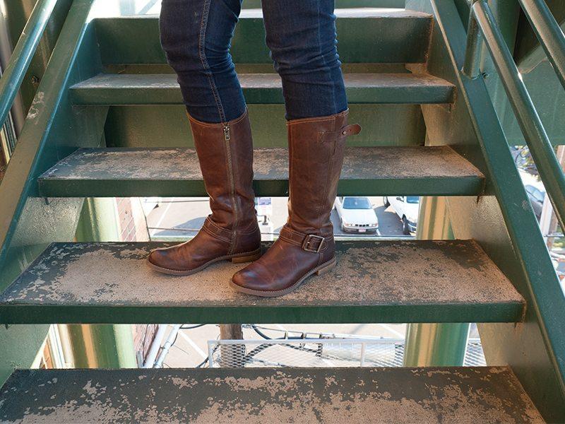 Timberland Savin Hill Tall Boots 8