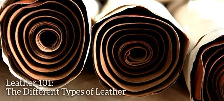 Leather 101 Differrent Types
