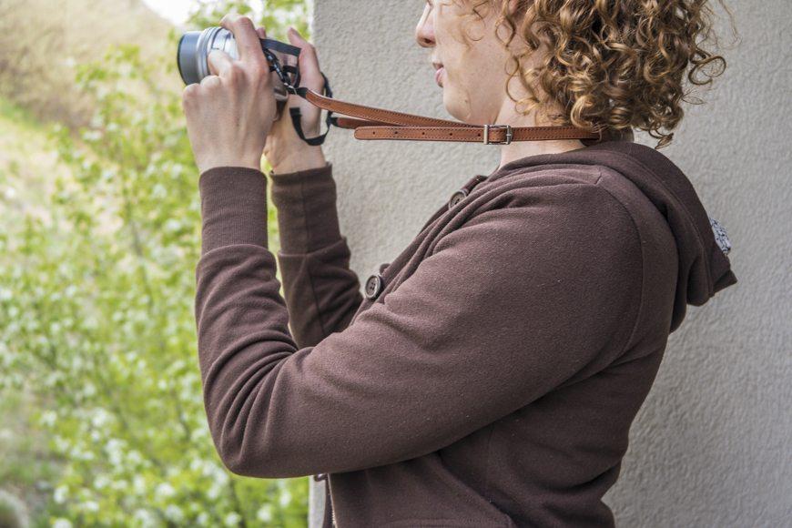 4V Design Camera Strap BestLeather SAM_0043