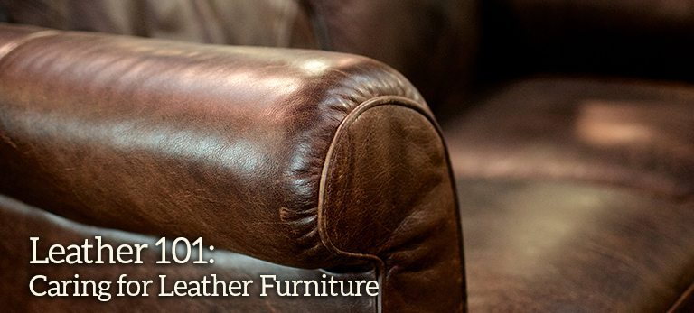 Leather 101: Caring For Leather Furniture