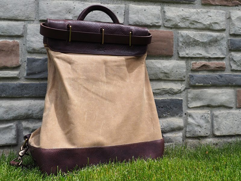 M Mercantile Steamer Backpack 5