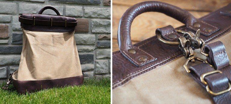 M Mercantile Steamer Backpack Cover