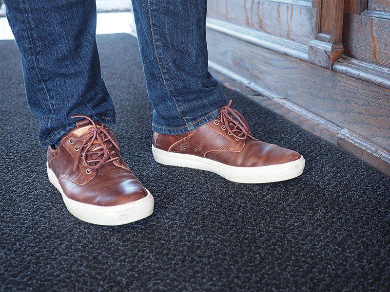 Oxford Zapatos De Cuero Suela De Aventura De Los Hombres De Timberland Qkerut