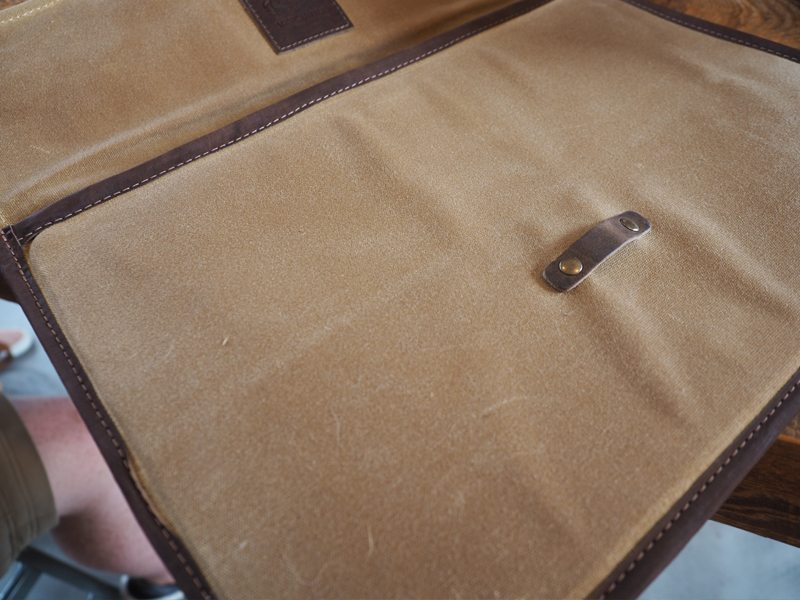 Mission Mercantile Laptop Sleeve 4