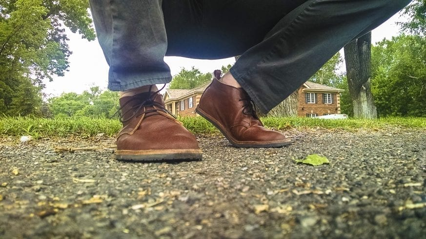 Soft Star Hawthorne Chukka Boots Review $190 BestLeather.org IMG_20160718_110540784