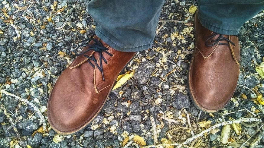 Soft Star Hawthorne Chukka Boots Review $190 BestLeather.org IMG_20160718_110953992