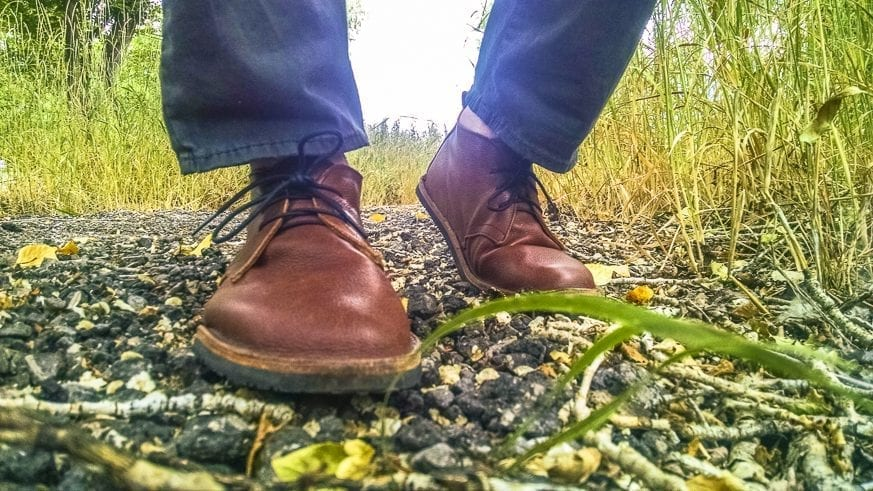 Soft Star Hawthorne Chukka Boots Review $190 BestLeather.org IMG_20160718_111016975