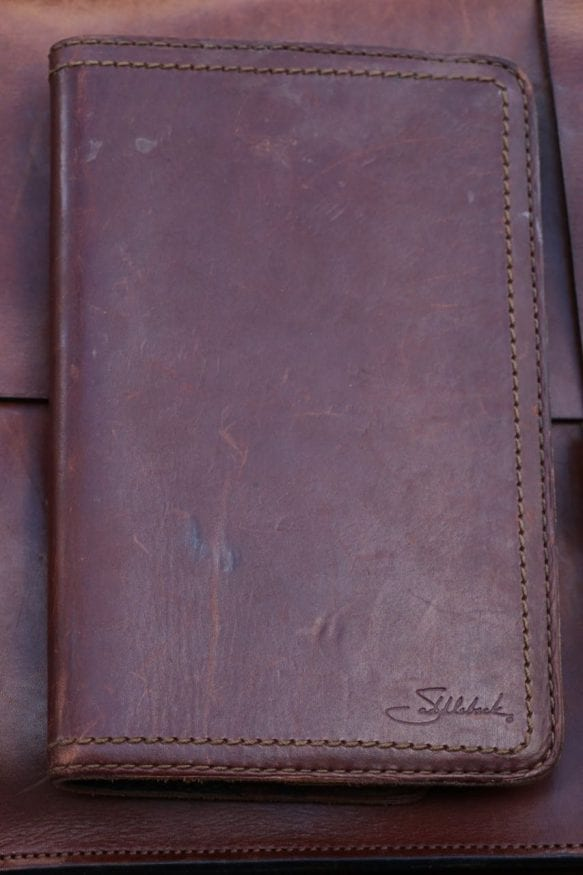 The Ongoing Leather Notebook Cover List Field Notes