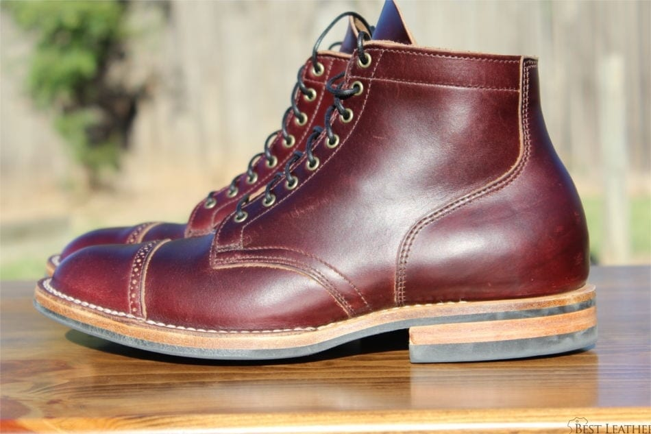 97c39a53017 Viberg Color 8 Chromexcel Service Boots - BestLeather.org