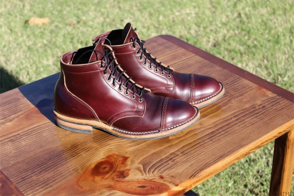 Viberg Color 8 Chromexcel Service Boots Bestleather Org