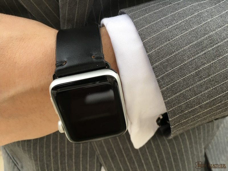 E3 Supply Co Horween Leather Watch Band For Apple Watch