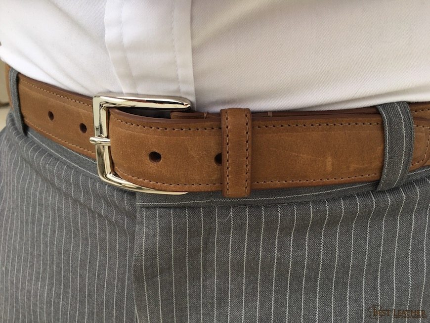 brookes hyde brown ale dress belt review 160