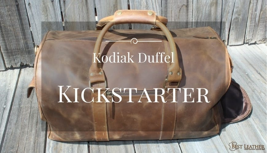 Kodiak Leather Classic Weekender Duffel Kickstarter