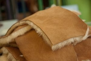 Sheep Skins Tanning Leather