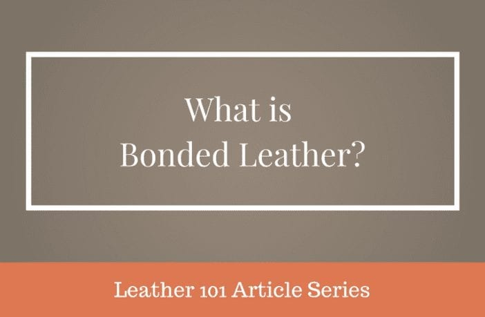 what is bonded leather
