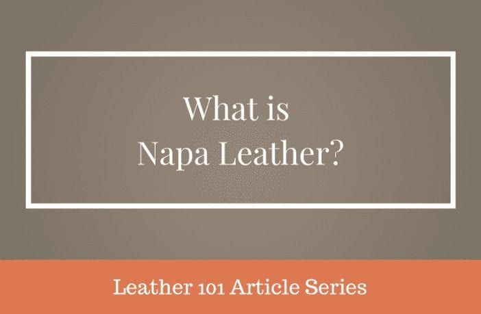 what is napa leather