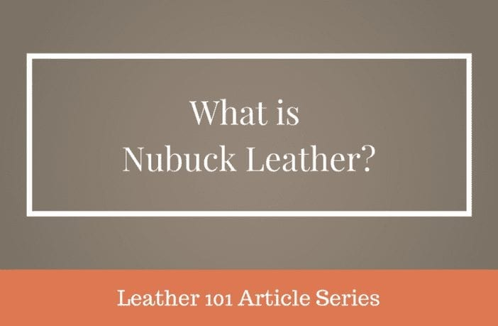 what is nubuck