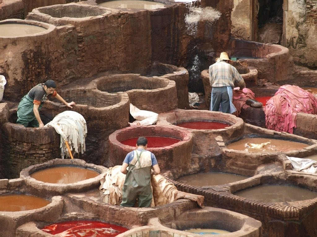 leather tanning