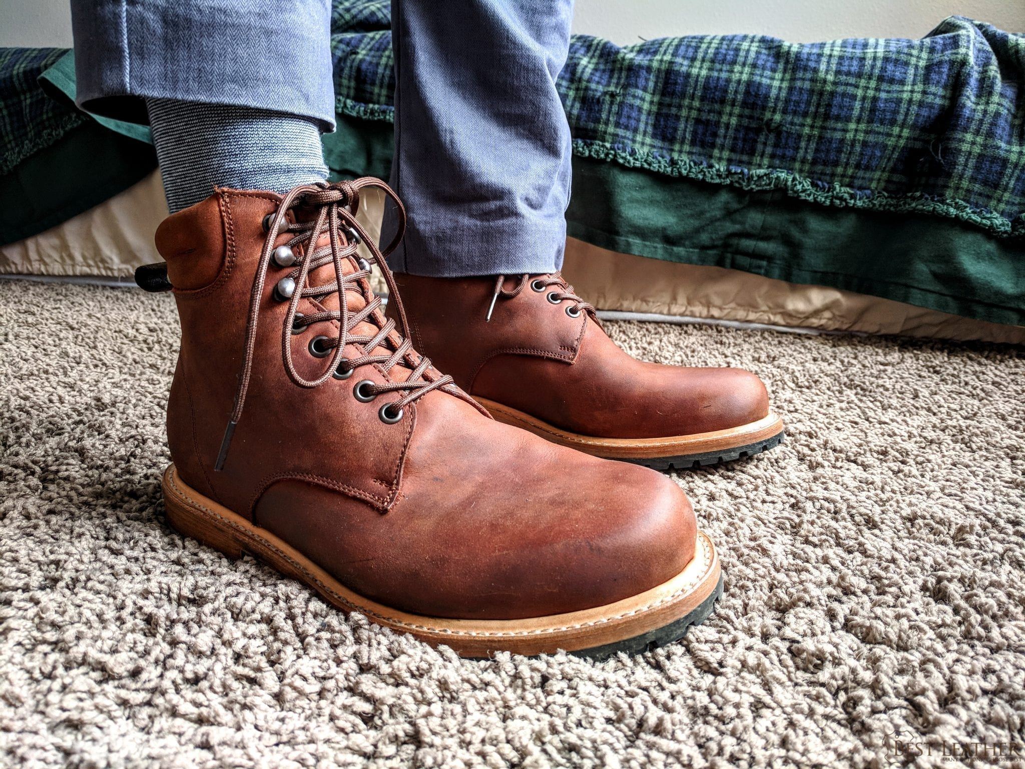 b0a7e2fa118 Wilcox Shiloh Leather Boots Review — $190 - BestLeather.org