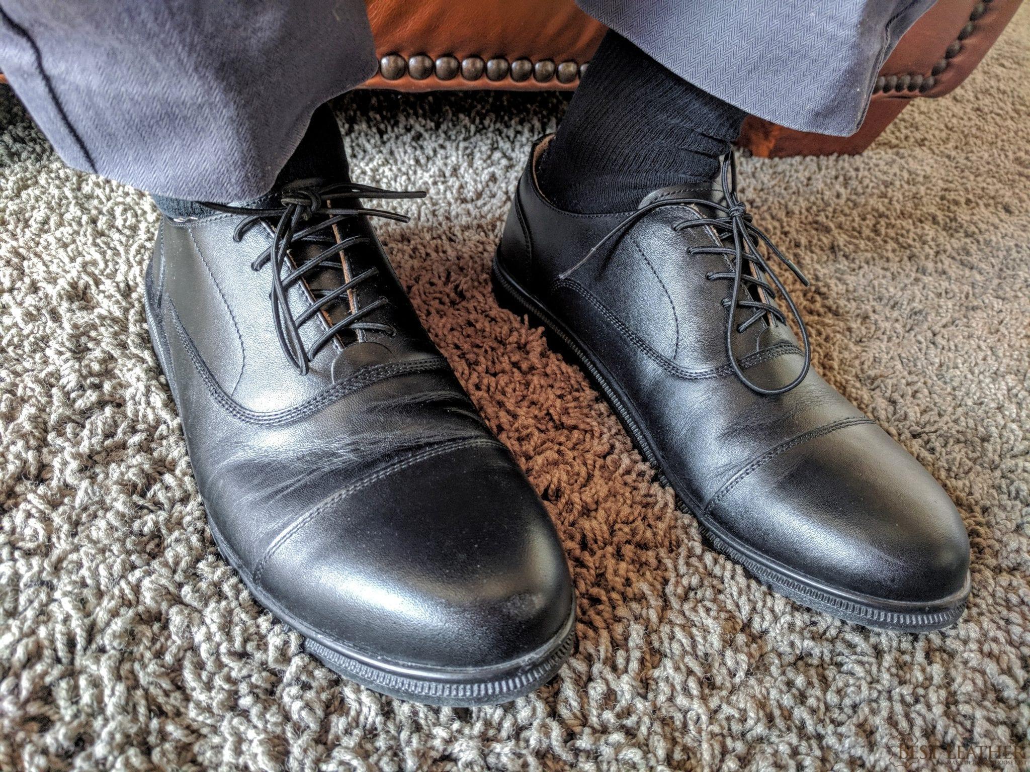 Carets Minimalist Fer Oxford Leather Shoe Review 350