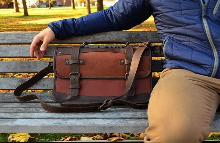 Buffalo Jackson Denver Leather Belted Briefcase Review